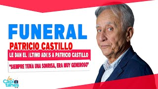 Le dan el último adiós a Patricio Castillo