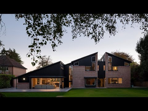 "Cullinan Studio designs ""cracked open"" UK house with gaps to let in the light"
