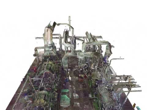 3D Scan of Turbine Skids