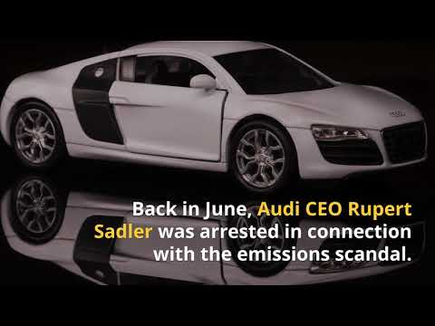 Audi Hit With $930 Million Fine Over Diesel Cheating Scandal