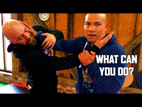How to control the distance in Self defence | Master Wong