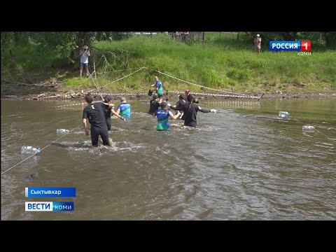 В Сыктывкаре впервые прошла гонка с препятствиями