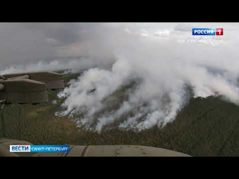Авиационные силы МЧС и ЗВО направили на тушение лесных пожаров