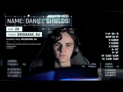 Introducing: Daniel Shields - Mercedes F1 Esports