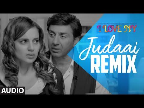 Full Audio: JUDAAI (Remix)   I Love New Year   Falak Shabbir   Sunny Deol, Kangana Ranaut