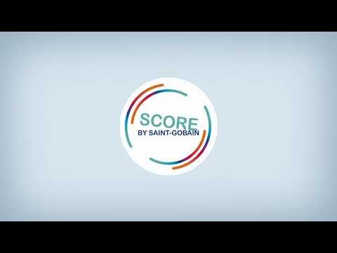 Saint-Gobain SCORE - mått på hållbarhetsprestanda