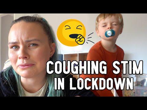 Cough Stim in Lockdown *AWKWARD*   Q&A Public Meltdowns Embarrassing?    Aussie Autism Family