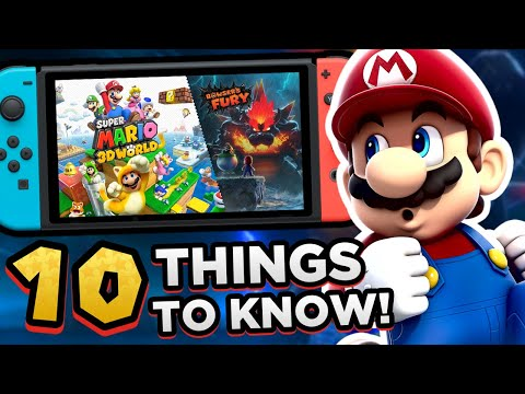 10 Things You NEED to KNOW About SUPER MARIO 3D WORLD + BOWSER S FURY!! (Before You Buy)
