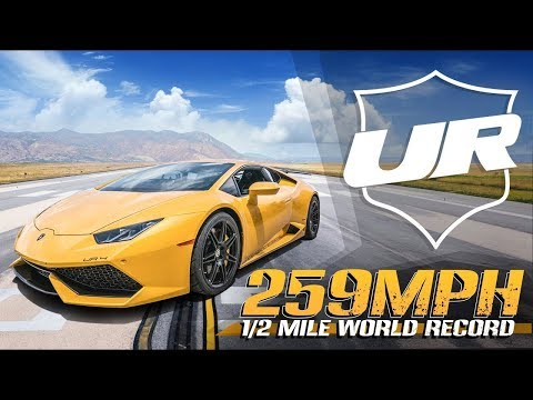 3500HP Lamborghini BLASTS to 259MPH - Half Mile World Record! Underground Racing