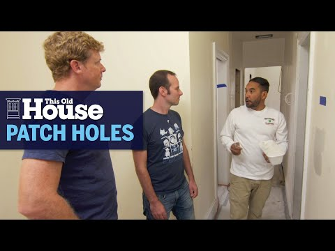 How to Patch Holes in Plaster Walls | This Old House