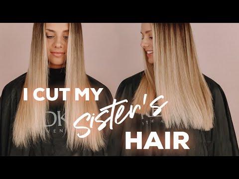 Cutting My Sister's Hair + Q+A - Kayley Melissa