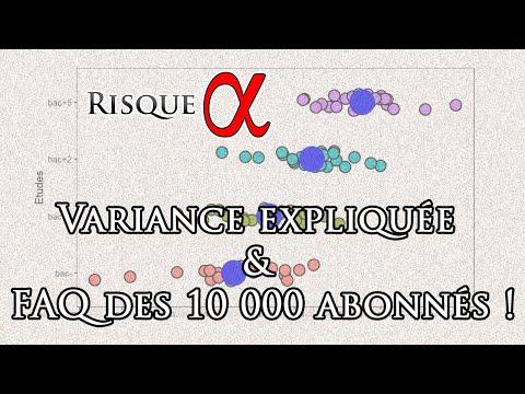 Variance expliquée & FAQ des 10 000 abonnés !
