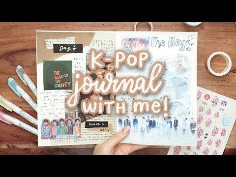 Starting a K-Pop Journal! (BTS, NCT127, StrayKids & more!)