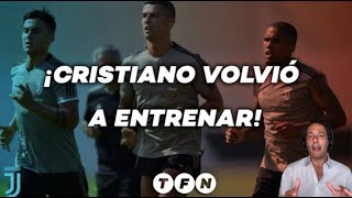 CRISTIANO RONALDO se entrena en la JUVENTUS para volver a COMPETIR - Deportes en #TFN