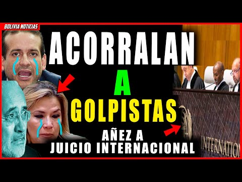 ACORRA-LAN A CAMACHO Y MESA. AÑEZ IRIA A LA JUSTICIA INERNACIONAL. APOSI-TOR3S NO PODRIAN EVITARLO