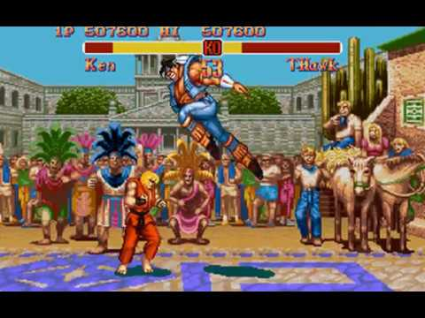 Super Street Fighter II (Ken) (Rozner Labs, Capcom) (MS-DOS) [1996] [PC Longplay]