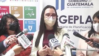 Guatemala presentará en septiembre el informe del avance de los Objetivos de Desarrollo Sostenible