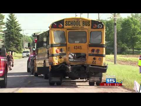 More details on school bus accident released - Latest Video News