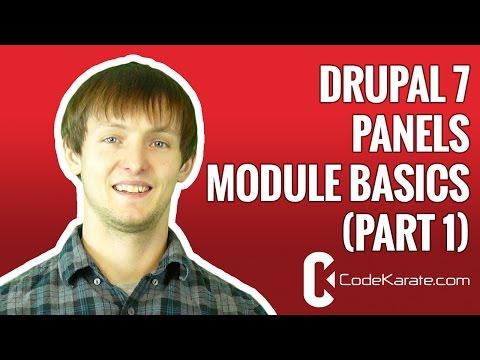 Drupal 7 Panels Module Basics (part 1) - Daily Dose of Drupal episode 128