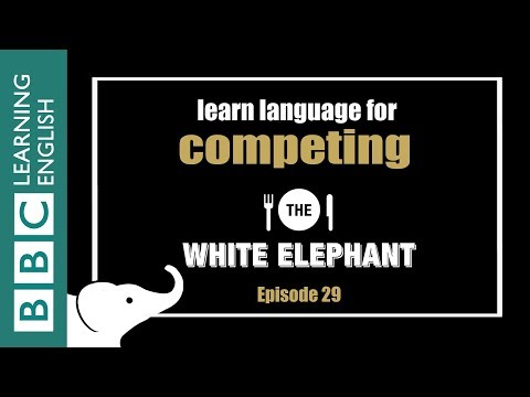 DRAMA: The White Elephant - learn phrases related to competition