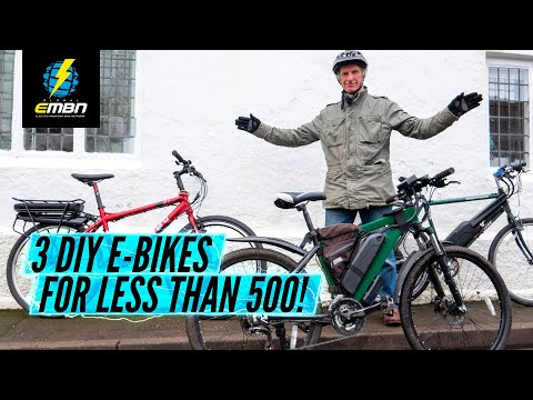 3 Different Homemade DIY Electric Bikes For Under £500/0/€500