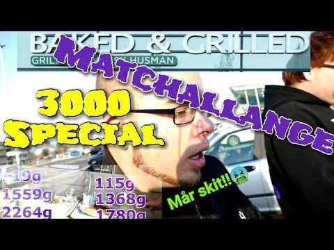 3K special - matchallenge med Vwmannen, äter 3kg mat