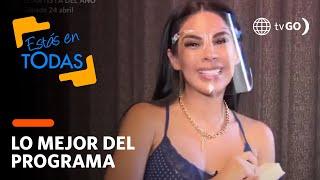 Estás en Todas: Tefi Valenzuela muestra su closet (HOY)