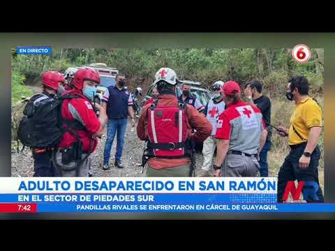 Buscan a adulto desaparecido en San Ramón