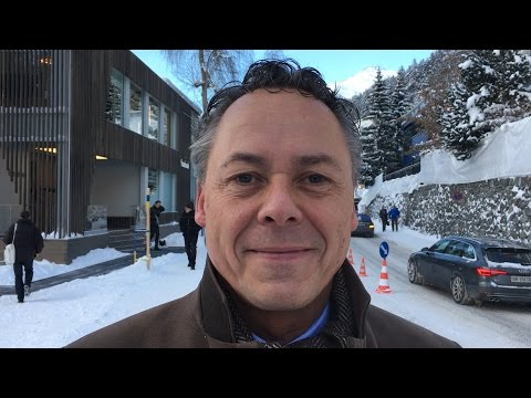 Ralph Hamers in Davos