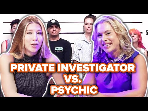 Private Investigator Vs. Psychic Match The Story To The Face Out Of A Lineup