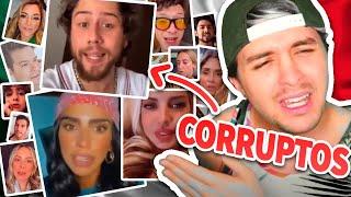100+ influencers mexicanos CORRUPTOS ?? Tomaron dinero de TUS IMPUESTOS para engañarte