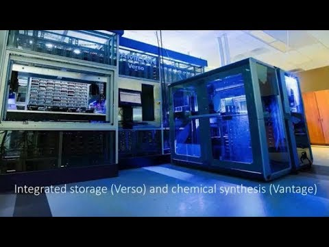 Improving Efficiency in Drug Discovery with Fully Automated Chemical Storage and Compound Synthesis