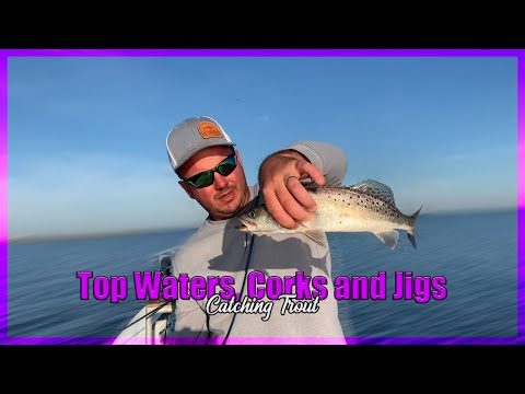 DockSide TV  'TopWaters, Corks and Jigs Catching Trout'