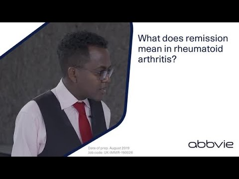 What does remission in rheumatoid arthritis mean? – a clinician and patient advocate perspective