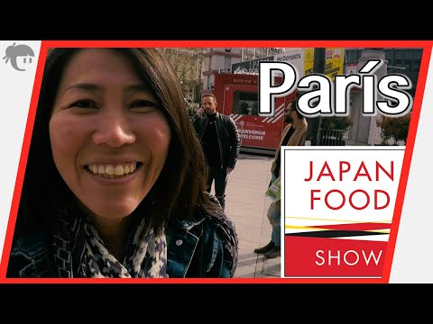 "Visitando ""The Japan Food Show en París"""