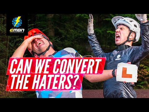 Can EMBN Convert A Hater? | Steve Rides With GMBN's Henry Quinney