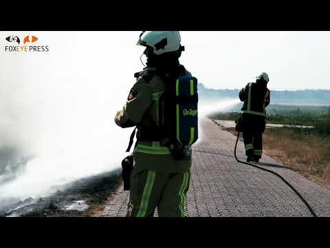 Berm/ruigte brand Tweede Groenedijk Emmer-Compascuum