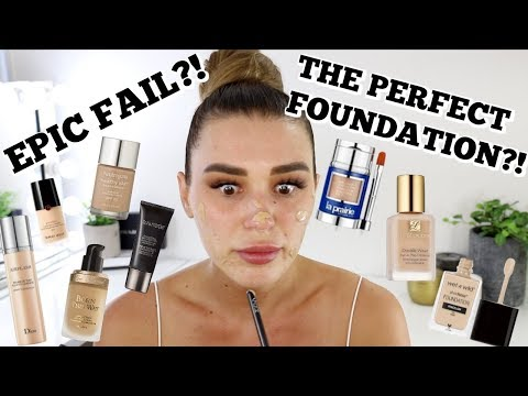 Mixing ALL My Foundations Together | Didn't Expect That...