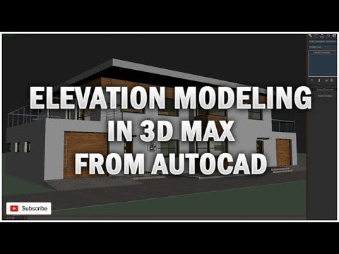 EXTERIOR MODELING IN 3D MAX [TUTORIAL]