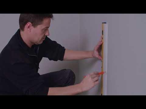 Montere benkehjørne til vegg
