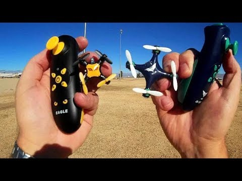 Cheerson CX-10SD and Eagle Micro and Nano Drones Flight Test Review