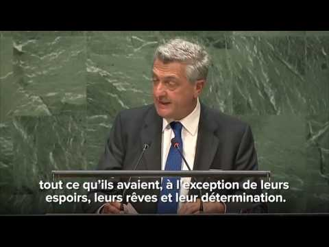 Etats Unis : la pétition #Aveclesréfugiés est remise au Secrétaire Général des Nations Unies