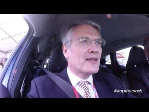 #STOPTHECRASH at The London Motor Show - Andrew Jones