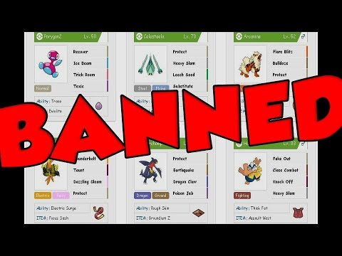 HACKED Pokemon QR Rental Teams BANNED!