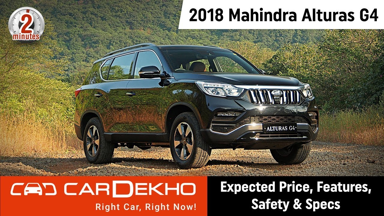 2018 Mahindra Alturas G4 | Expected Price, Features, Safety & Specs | #In2Mins