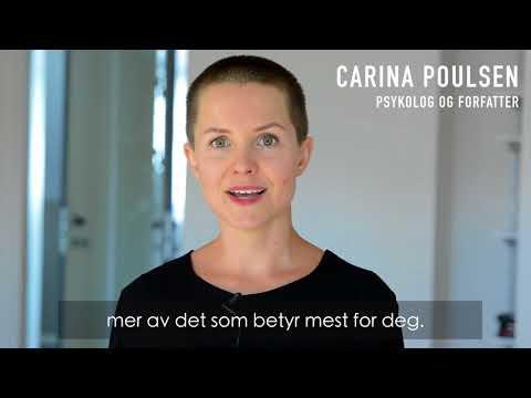 Carina Poulsen: Tenk enkelt. Få mer av det som betyr mest.