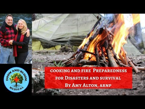 Fire Starters and Cooking: Disaster Preparedness
