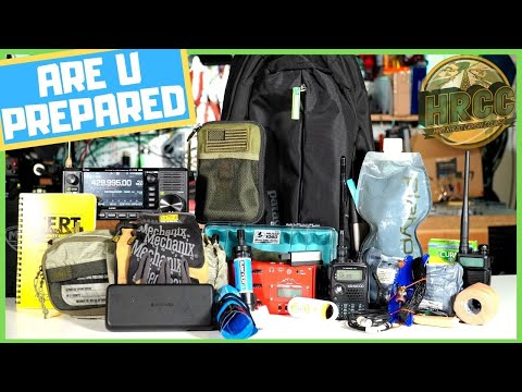 How to Build A Communications Go Bag or Get Home EDC Bag - Livestream