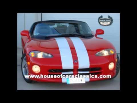 HOUSE OF CARS CLASSICS MM CLASICOS DODGE VIPER 1992