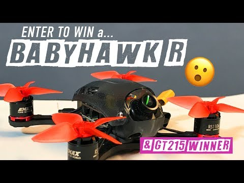 GT215 & Emax BABYHAWK R - [ GIVEAWAY - ENTER TO WIN ! ]